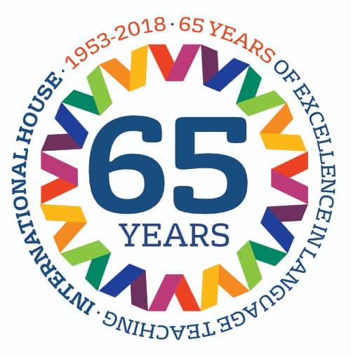 IH 65 years of experience Logo