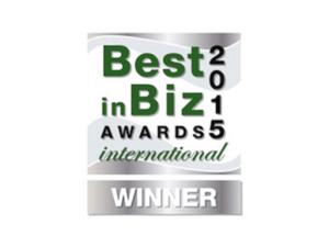 International Best In Biz Award Logo