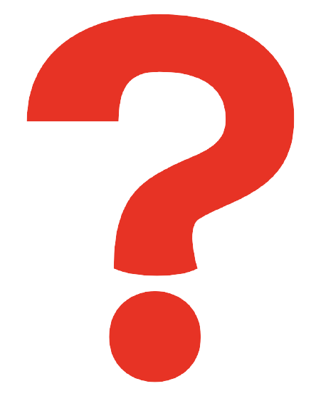 A Red Question Mark