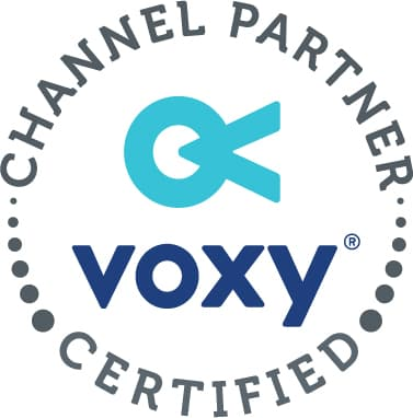 Voxy Certified Partner logo