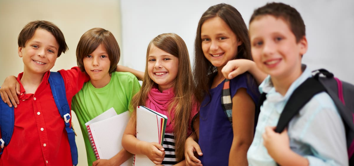Young Learners Smiling